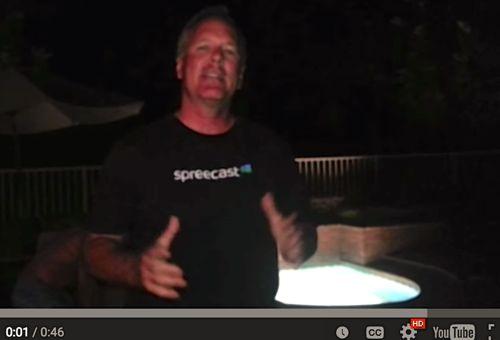 #IceBucketChallenge to Spreecast!