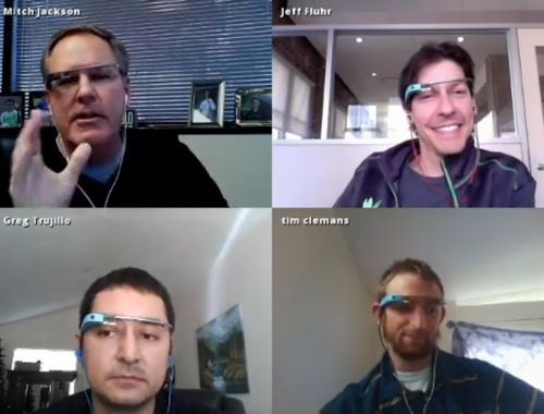 Google Glass with Spreecast Co-Founder, Jeff Fluhr