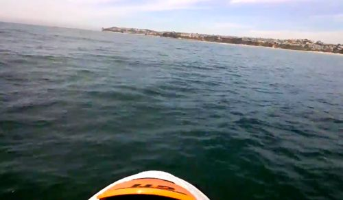Hi Speed Jet Skiing at Dana Point Harbor Through Google Glass