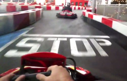 K1 Racing Through Google Glass