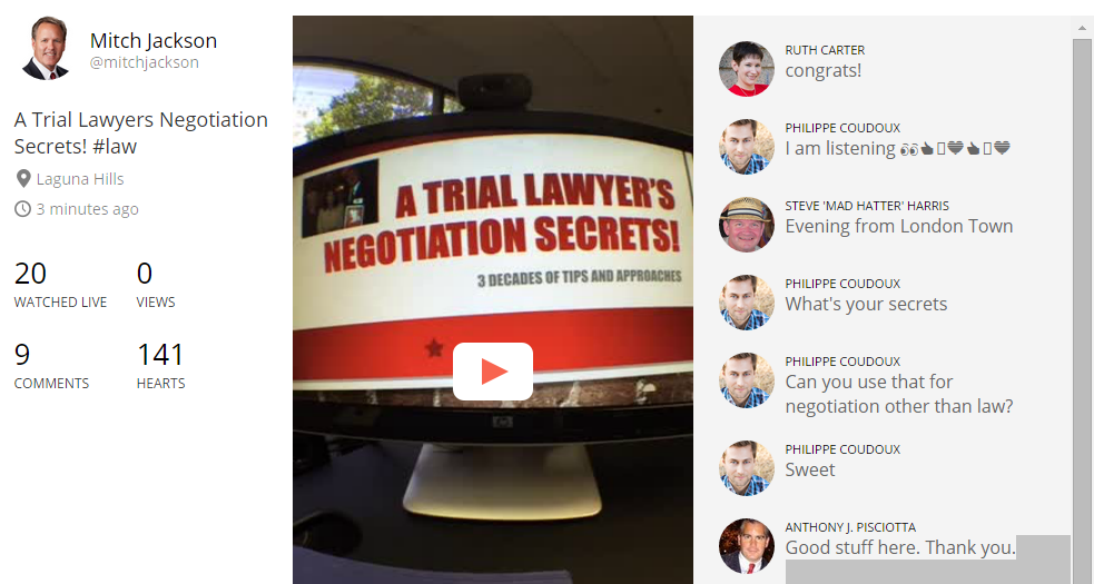 Trial Lawyer NegotiationSecrets