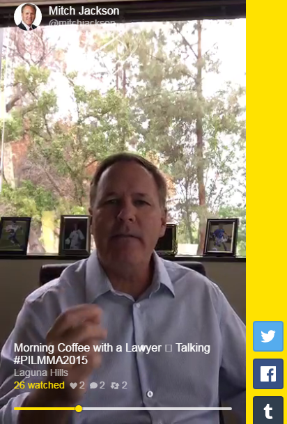 Morning Coffee with a Lawyer Episode 4: PILMMA Convention and AirBnB in San Francisco