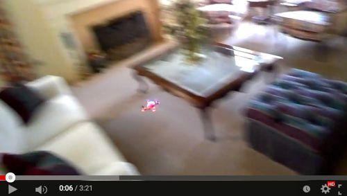 Flying and crashing my ProtoX Quad via GoogleGlass