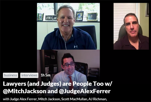Mitch Jackson Judge Alex
