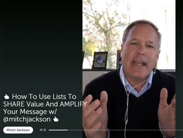 How to Use Lists to Add Value and Amplify Your Message