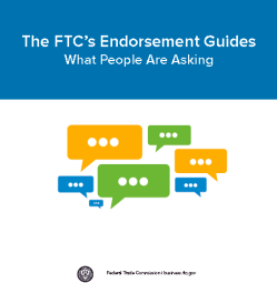FTC Endorsement Guide