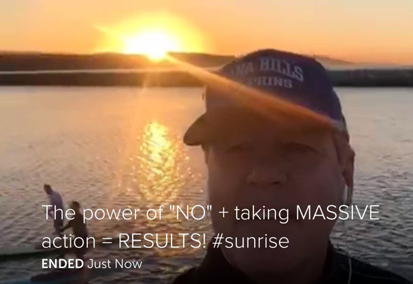 The Power of Saying No and Taking Massive Action