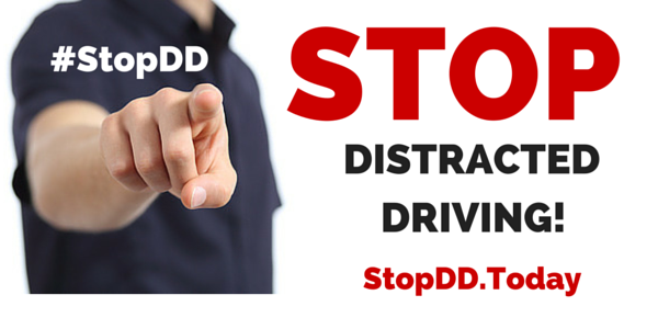 Stop Distracted Driving #StopDD