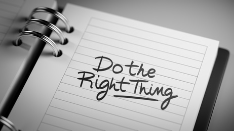 Do The Right Thing on Social Media