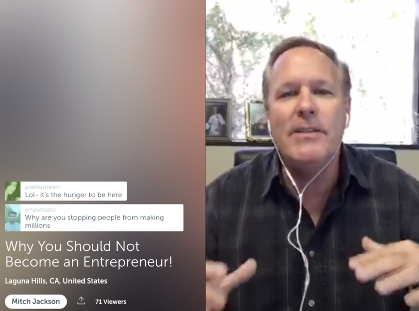 mitch-jackson-do-not-become-an-entrepreneur-on-periscope