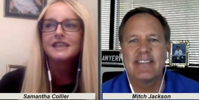 Samantha Collier and Mitch Jackson Interview