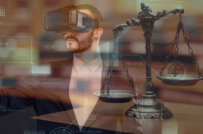 Mitch Jackson VR AR in the courtroom