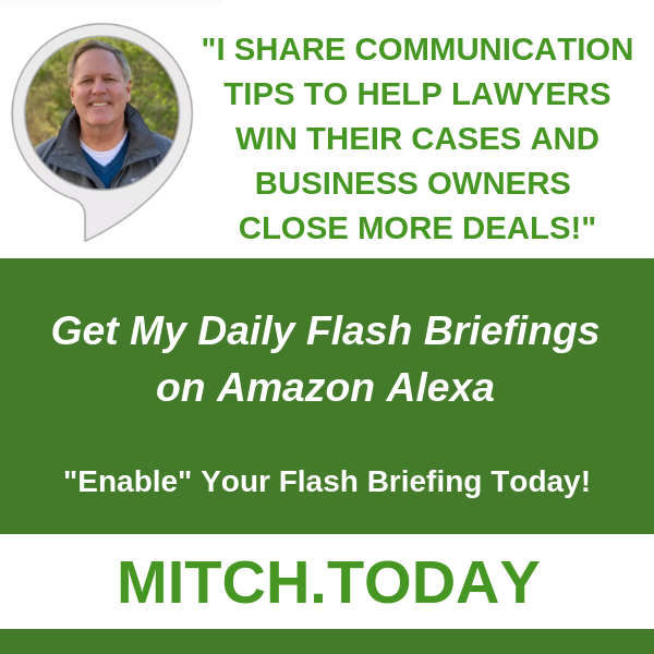 Mitch Jackson Amazon Flash Briefing