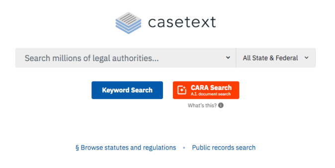 CaseText Legal Research